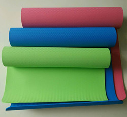 Colorful TPE yoga mat 4-10mm