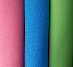 173*61cm/183*61cm Colorful TPE YOGA MAT 4-10mm