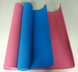 Best Colorful Eco Friendly Large Non Slip Clean Tpe Yoga Mat 4-10mm