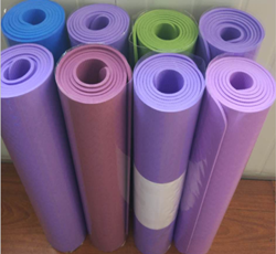 185*60cm Colorful EVA Yoga Mat 4-10mm