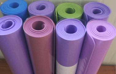 NEW PRODUCT-185*60cm Colorful TPE Yoga Mat 4-10mm